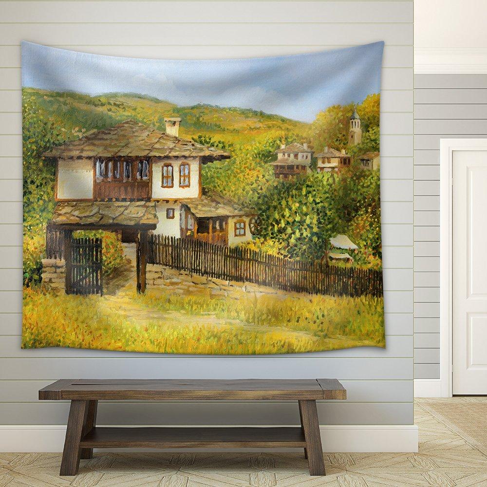 Rural Colorful Autumn Landscape in Village Bojenci in the Balkan ...