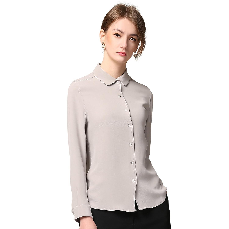 f6a71cf865fd2 Chesslyre 100% Silk Shirt for Women