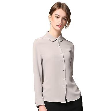 e54d7df82c5c Chesslyre 100% Silk Shirt for Women
