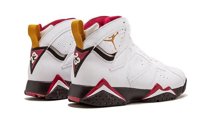 separation shoes 4558d 6d354 Jordan Air 7 Retro Cardinal, White