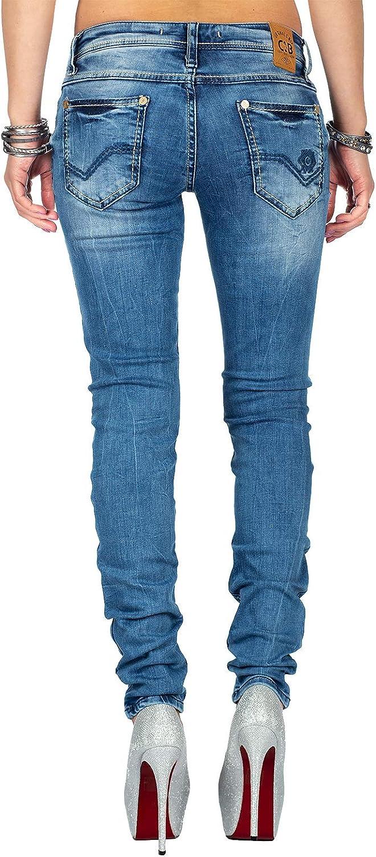 Cipo /& Baxx Jean pour femme Bluejeans wd344bans