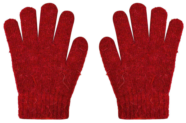 CEAJOO Girl's Gloves Cashmere Knit Stretch Winter Warm CYF-FingerGlove14-Beige-K1
