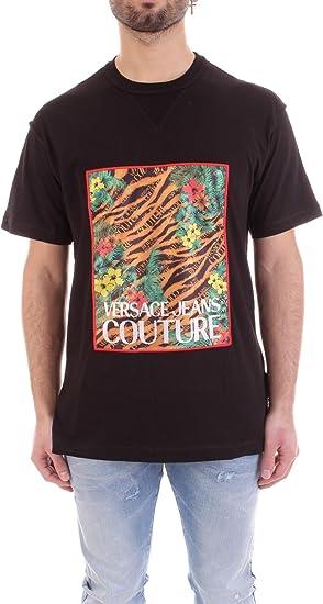 Versace B3GVB7KE30327 - Camiseta para hombre, talla XL, color negro: Amazon.es: Ropa y accesorios
