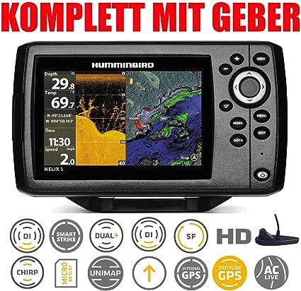 Humminbird Helix 5 Chirp GPS Di G2 Down Imaging Echolot montaje ...