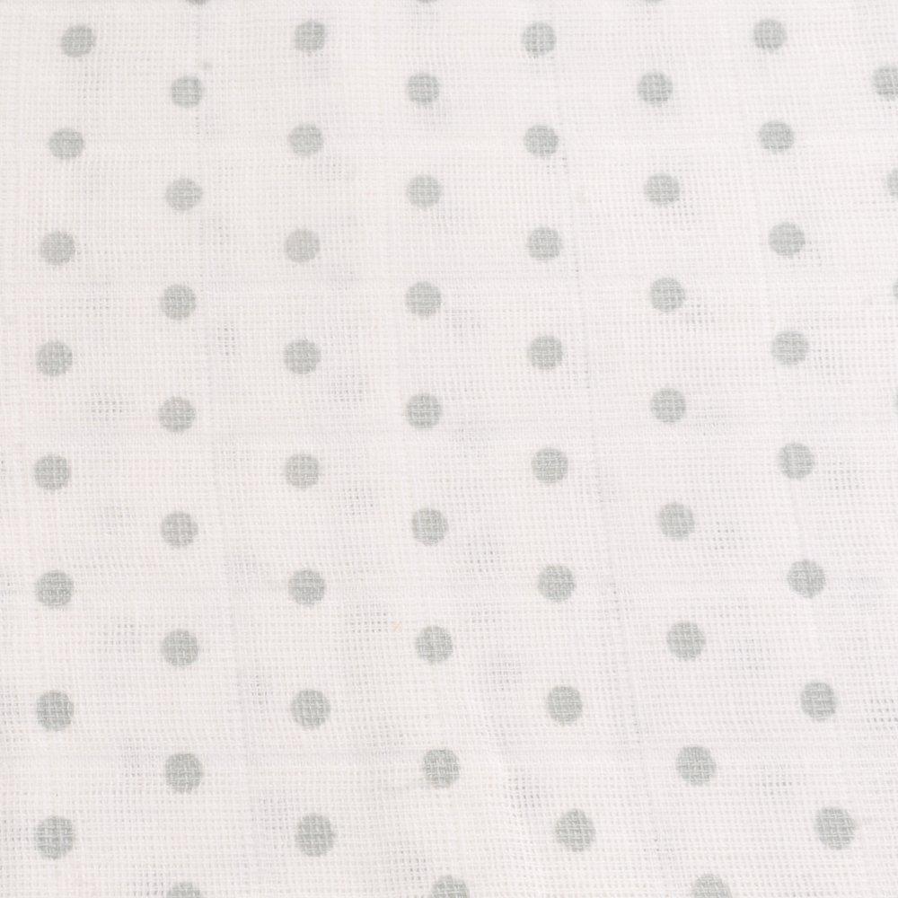 Zippy Muslin Mantas finas de muselina elegante gris y blanco (3 ...