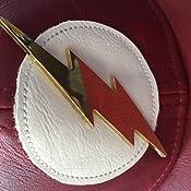42142fcfed222b Amazon.com: Bioworld Official- DC Comics Flash- Faux Leather ...