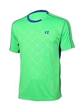 ZF FZ Forza Men Barcelona Camiseta de Green, Verde, XX-Large