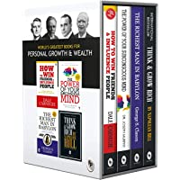 World s Greatest Books For Personal Growth & Wealth (Set of 4 Books): Perfect Motivational Gift Set Various