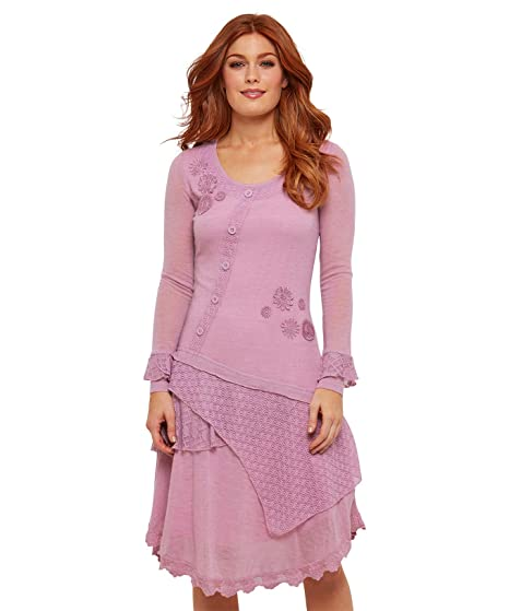 9a0446fdc91893 Joe Browns Damen Kleid mit Applikationen und geschichtetem Saum: Amazon.de:  Bekleidung