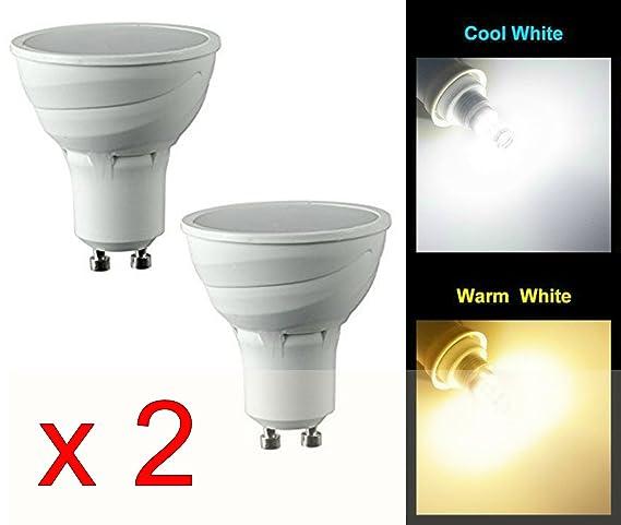 Bombilla LED de 5 vatios MSC, 450 lm GU10 – Sensor automático