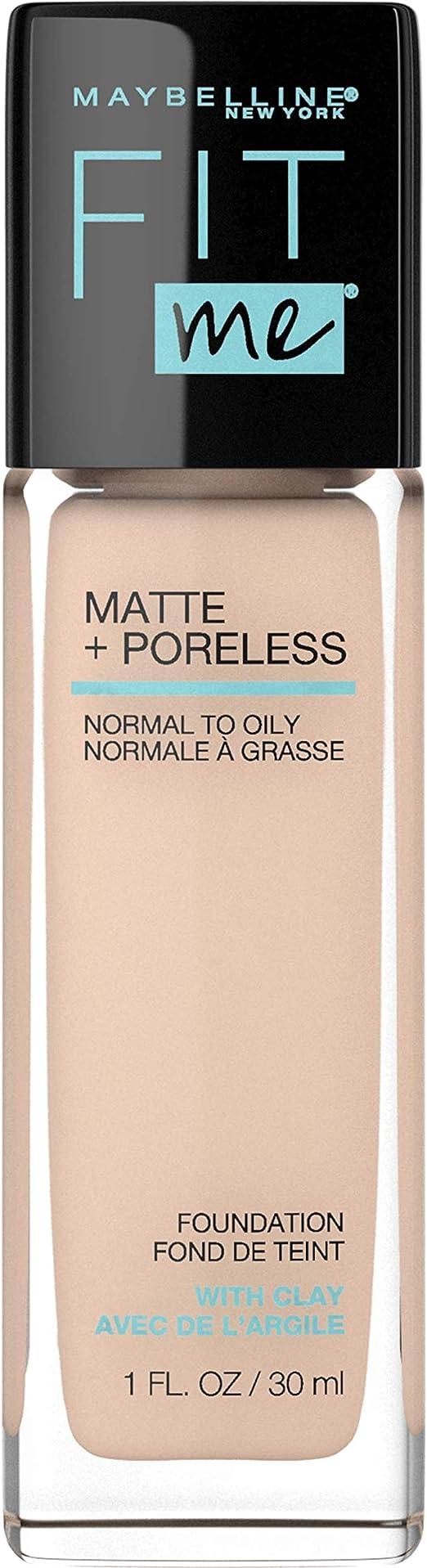 Maybelline Base de Maquillaje Fit Me Matte, 120 Classic Ivory: Amazon.com.mx: Salud y Cuidado Personal
