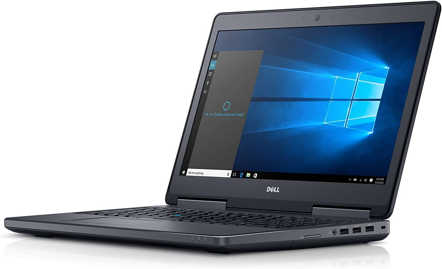 DELL PRECISION M7510 I7 6820HQ 3.6GHZ QUADRO M2000M 4GB 16GB 2133MHZ FHD 1080P 1TB SSD NT0006 (Renewed)
