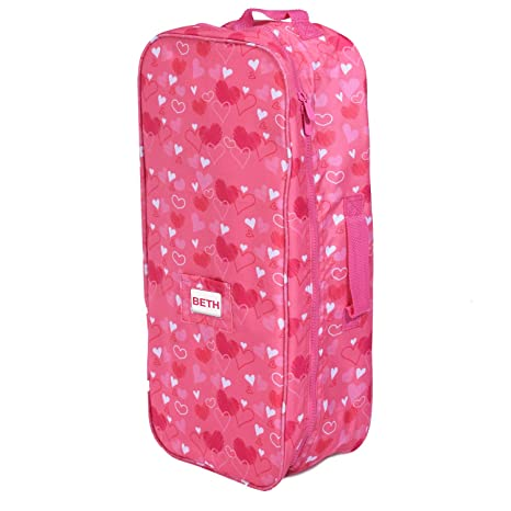 Image Unavailable. Image not available for. Color  Doll Travel Case Suitcase  Storage Bag ... 2d2ef4dd4c0e4