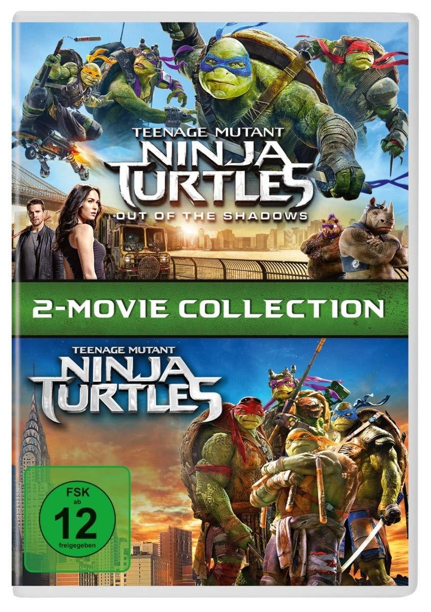 Teenage Mutant Ninja Turtles 2-Movie Collection Alemania DVD ...