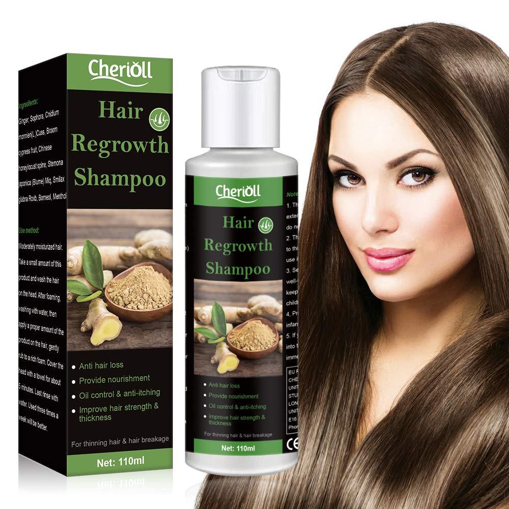 Hair Loss Shampoo, Hair Growth Shampoo, Anti-Hair Loss, Extra Strength Hair Growth Treatment, Treated Hair Care for Thinning Hair, Natural Hair Regrowth For Men & Women, Grow Hair Faster
