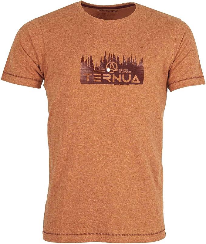 Ternua Camiseta Hansi SL T-Shirt M Hombre, Ginger, S: Amazon.es: Deportes y aire libre