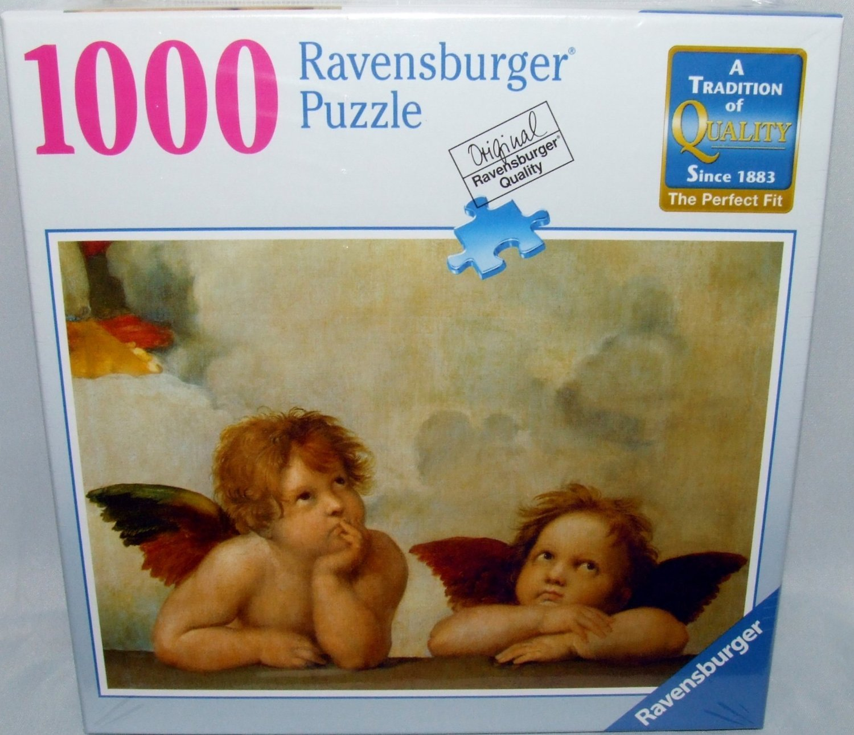 1000 Piece Raffaello Cherubs Ravensburger Puzzle