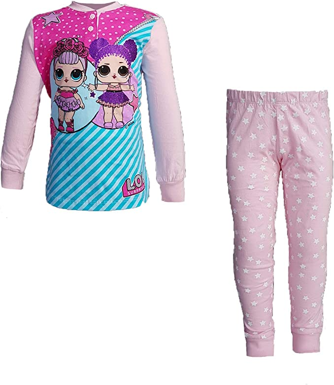 LOL SURPRISE Pijama niña largo de algodón jersey Art. 6158 Rosa 5-6 Años: Amazon.es: Ropa y accesorios