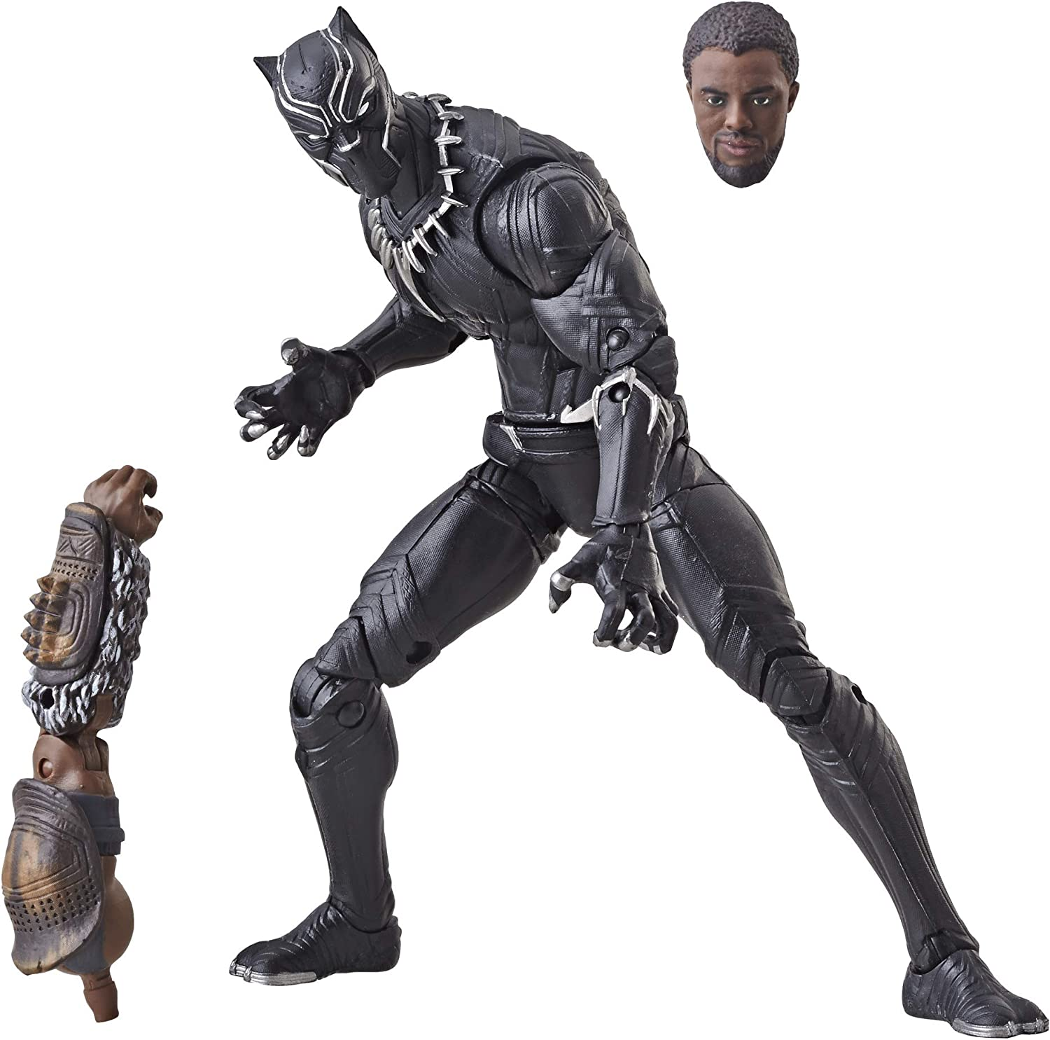 """Hasbro Marvel Avengers Issue 6/"""" Black Panther Action Figure"""