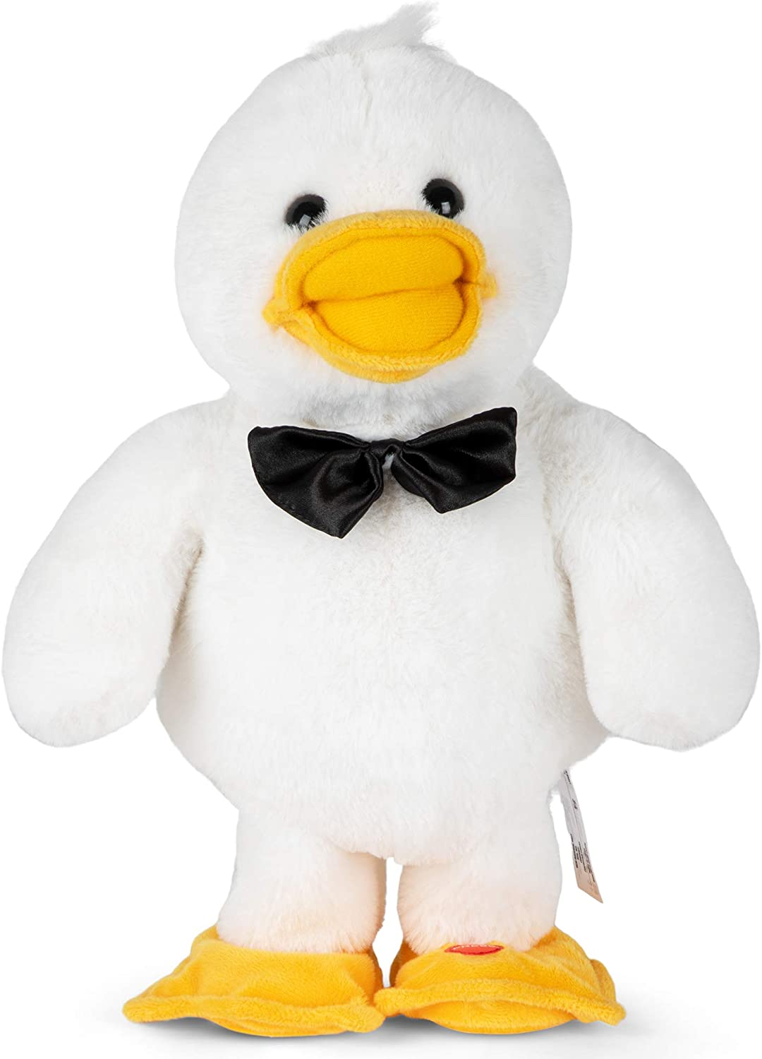 4GreenFrogs Premium Duck Plush Toy, Dancing & Singing - Soft Duck Stuffed Animals for Toddlers and Kids - Cute Talking Animal Toys - Singing Plushie, Great for Laughter & Fun