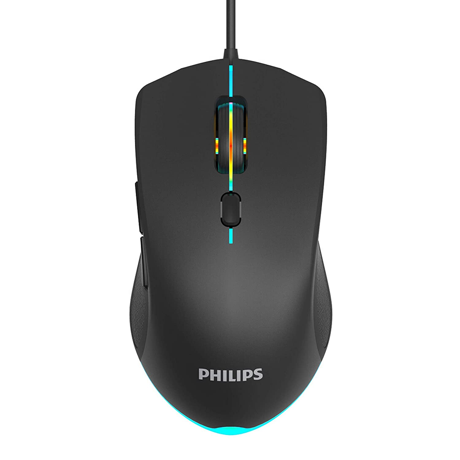 Mouse Gaming con cable RGB y DPI ajustable-TGZ7