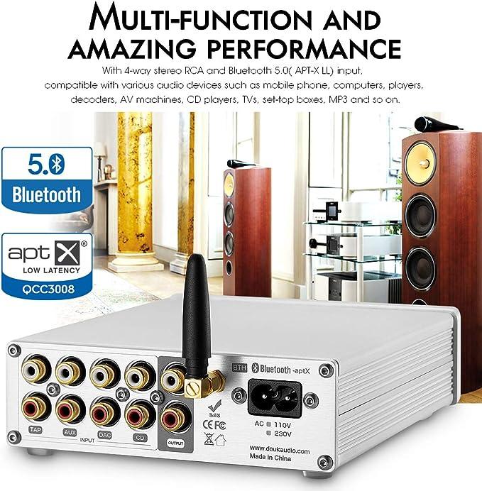 Nobsound NS-08P Pro Amplificateur numrique HiFi Bluetooth 5.0 ...