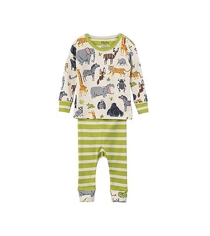Hatley Mini Organic Cotton Long Sleeve Pyjama Set, Conjuntos de Pijama para Bebés: Amazon.es: Ropa y accesorios