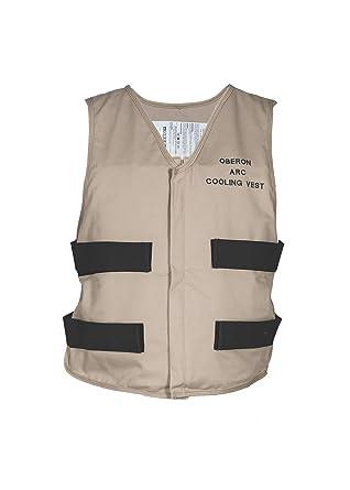Amazon.com: Oberon Company Arc Flash Enfriamiento vest-use ...