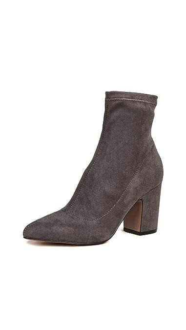 6b866dc28f1a Steven Women s Leandra Block Heel Ankle Booties