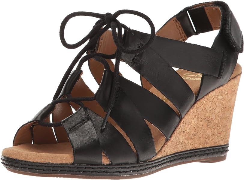 0b726103ecd CLARKS Women s Helio Mindin Wedge Sandal