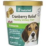 NaturVet - Cranberry Relief Plus Echianecea Soft Chew