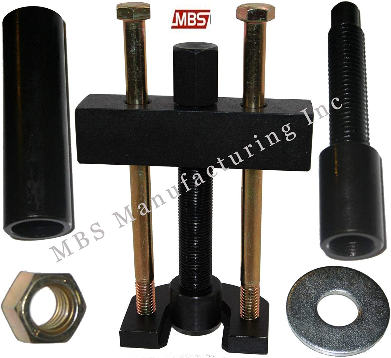 MBS Mfg Harley Davidson Big Twin 5 and 6 Speed Transmission Mainshaft Inner Bearing Race Puller and Installer 1984-2006
