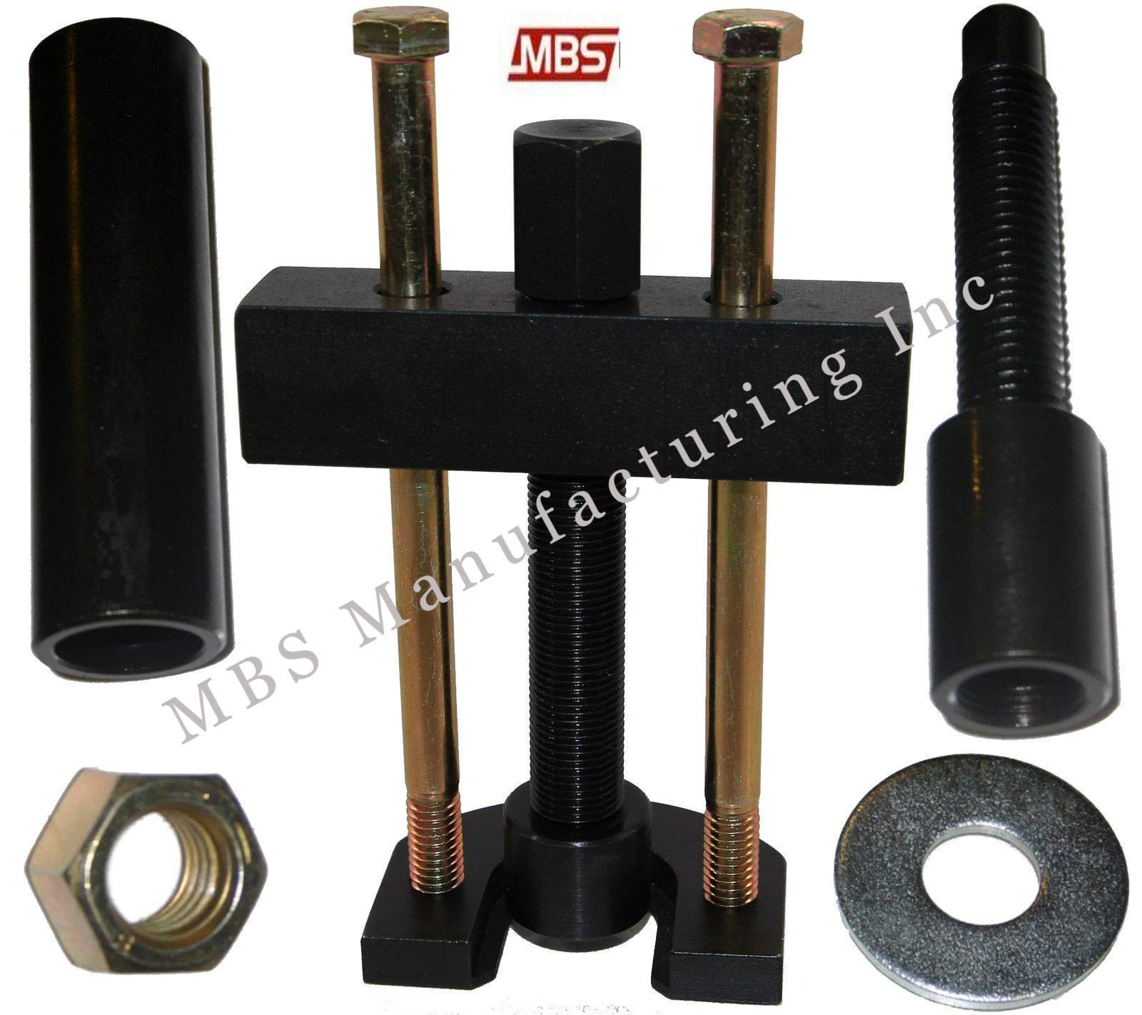 MBS Mfg Harley Davidson Big Twin 5 and 6 Speed Transmission Mainshaft Inner Bearing Race Puller and Installer (1984-2006)