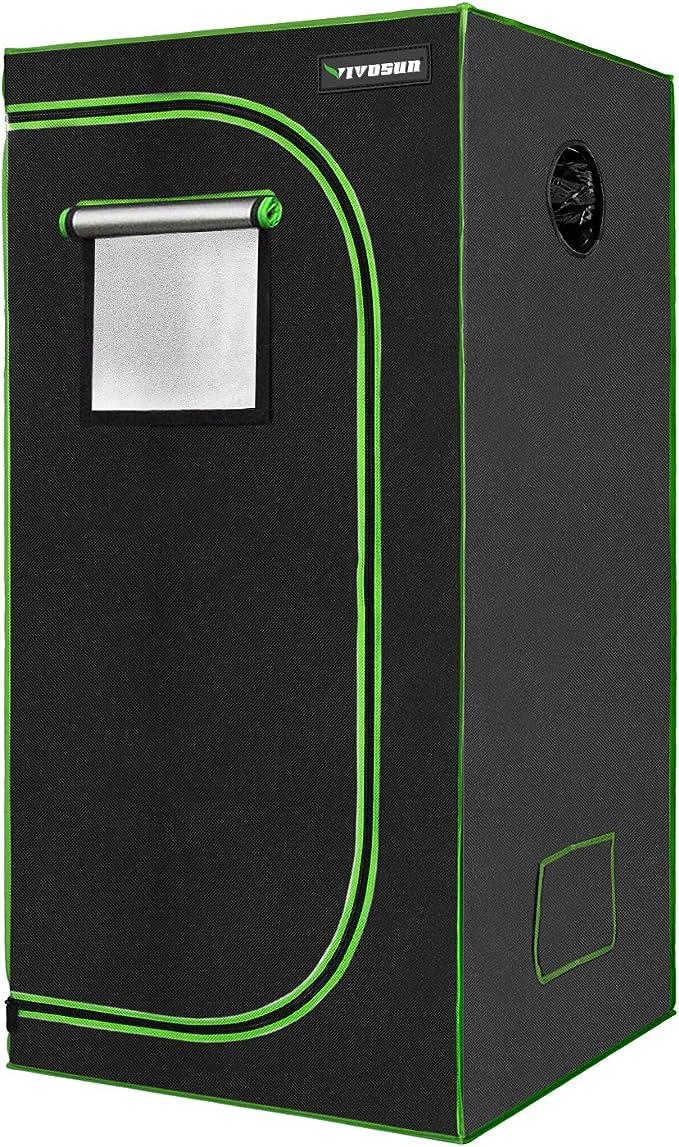 VIVOSUN 24x24x36 Mylar Hydroponic Grow Tent - The Best Choice