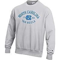 Champion 男式 NCAA 反向编织圆领运动衫-银灰色
