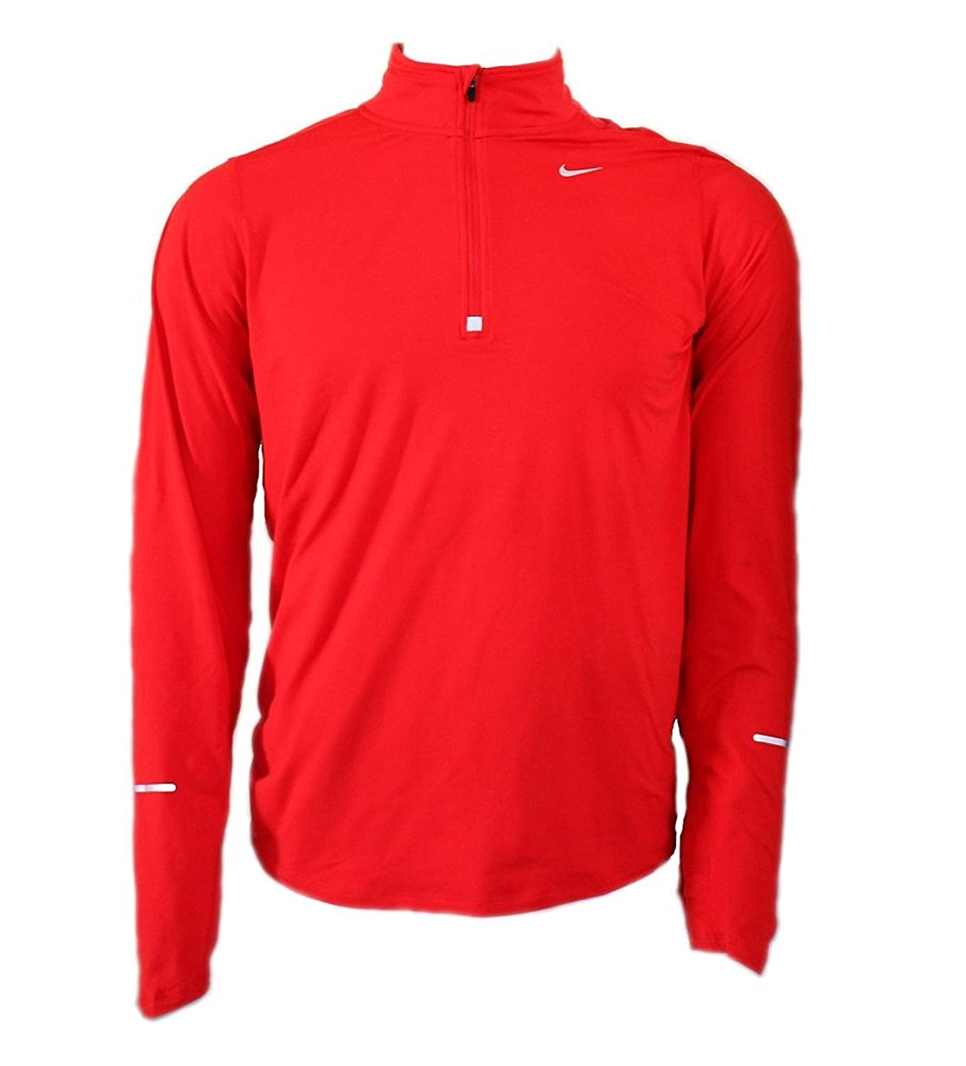 NIKE Men's Dry Element Running Top B013FKH2DE XX-Large Red/Reflective Silver