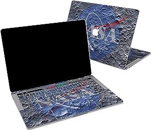 Lex Altern Vinyl Skin for MacBook Air 13 inch Mac Pro 16 15 Retina 12 11 2020 2019 2018 2017 Beautiful Moon Surface Texture NASA Unique Men Cover Trackpad Decal Sticker Touch Bar Laptop Girl Top