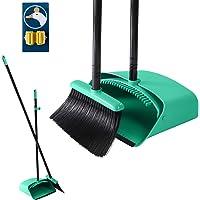 Bei & Bezem en veegschep, 2-delige set met lange steel, voor het vegen van het huis,huishoudelijk schoonmaken