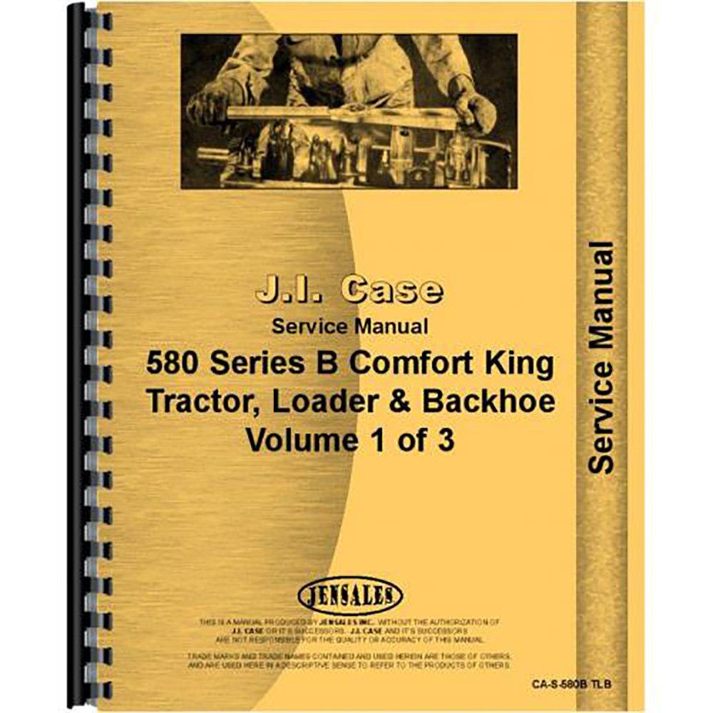 Amazon.com: New Case 580B Tractor Loader Backhoe Service Manual: Industrial  & Scientific