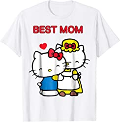 edc790a6e Hello Kitty Mother's Day Best Mom Tee Shirt