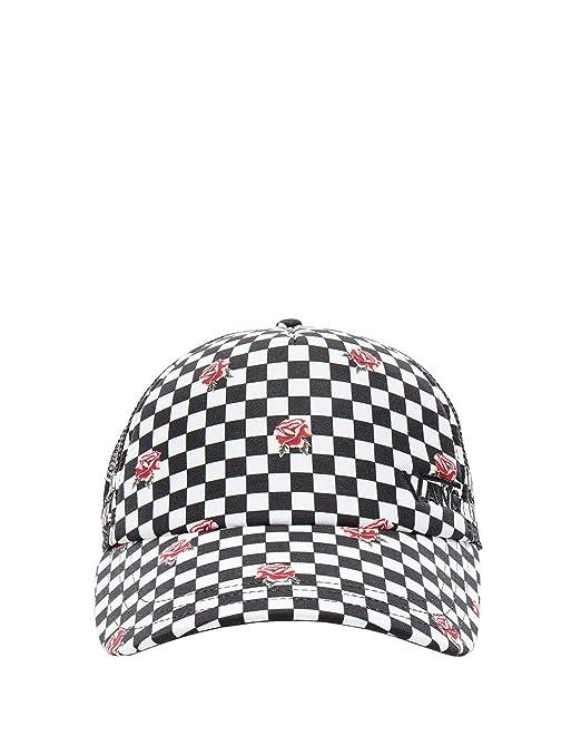 Vans Rose Checkerboard Mujer Cap Blanco