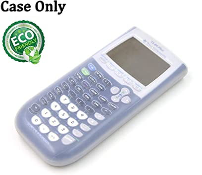 Silicone Case for Ti-84 plus Texas Instruments Graphing Calculator,Soft Protective Ti 84 Plus Case