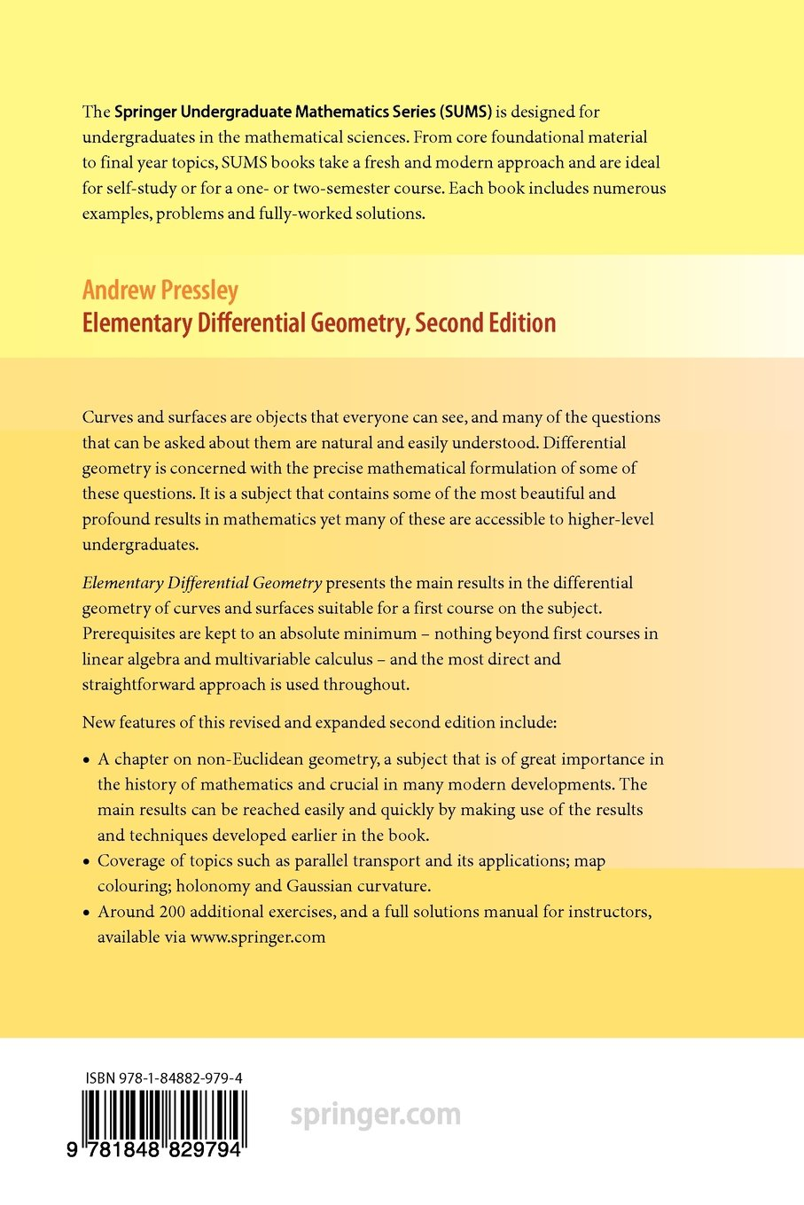 amazon in buy elementary differential geometry book online at low rh amazon  in Hyperbolic Geometry Algebraic Geometry