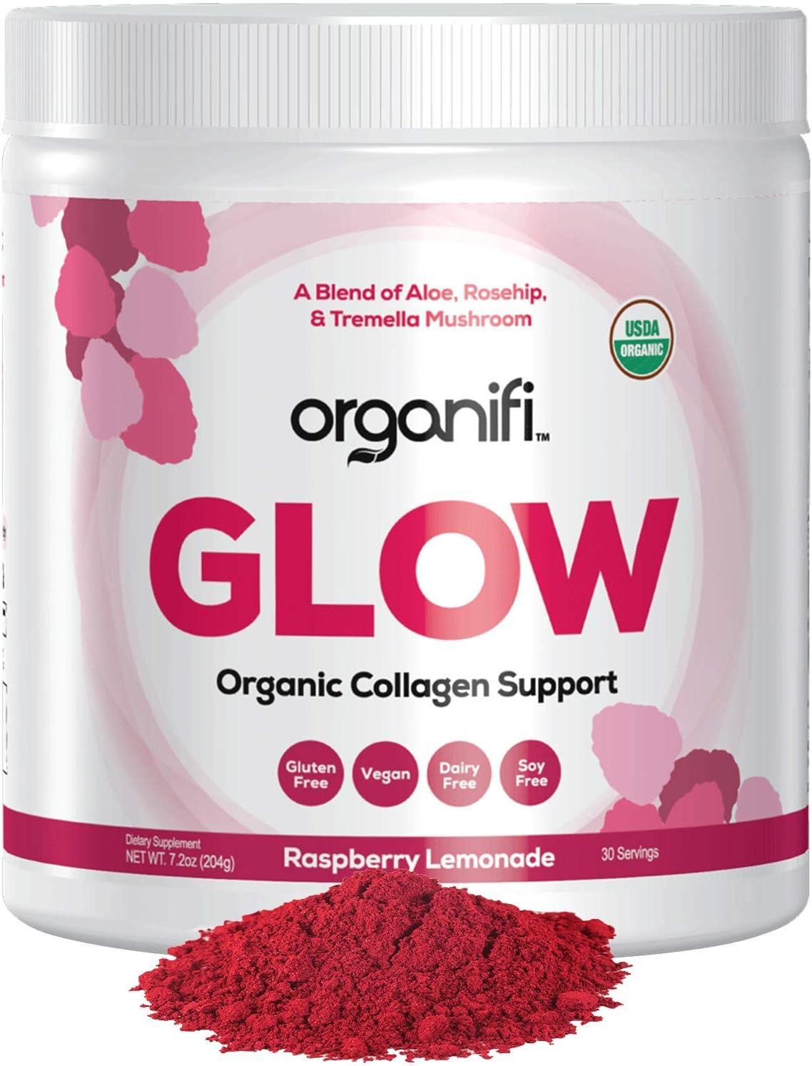 Organifi Glow - Organic Collagen Superfood Powder