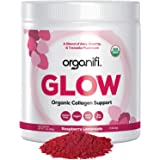 Organifi: Glow - Organic Collagen Supplement Powder - 30 Servings- Organic and Vegan - Supports Superior Hydration and Collag