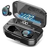 HEYMIX True Wireless Earbuds Bluetooth 5.0 Headphones w/Mic, , IPX7 Waterproof Earphones for Sports, 3D Stereo Audio…
