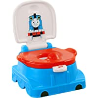 Fisher-Price Thomas Railroad Rewards Potty, Kids Toilet Training seat, Ring and Step Stool with Train Sounds, Songs and Phrases to Encourage and Reward