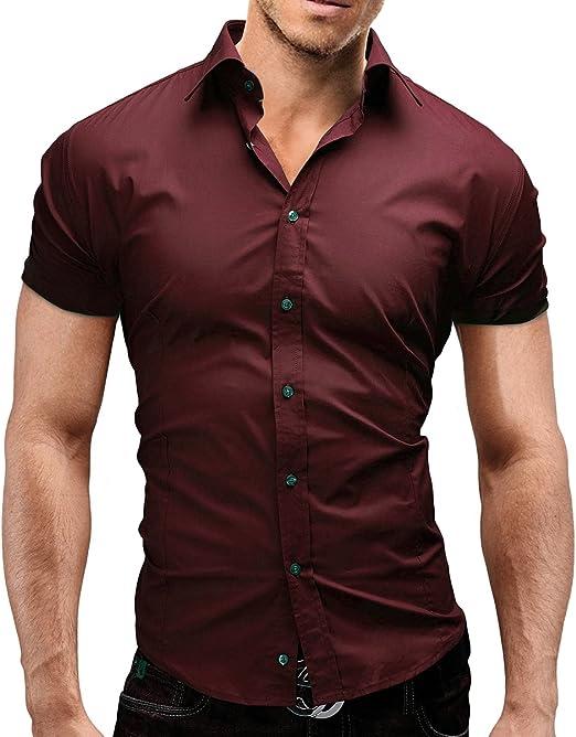 Merish Kent 441 - Camisa de manga corta para hombre Color ...