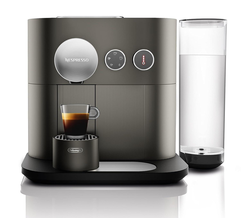 Nespresso DeLonghi Expert EN350.G - Cafetera monodosis de cápsulas Nespresso, controlable con smartphone mediante bluetooth, recetas ajustables, 19 ...