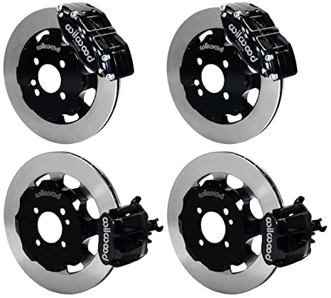 2009 2010 for Mini Cooper John Cooper Works Front /& Rear Brake Rotors and Pads
